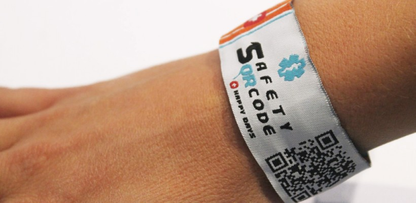 Now Safety QR Code is a bracelet too